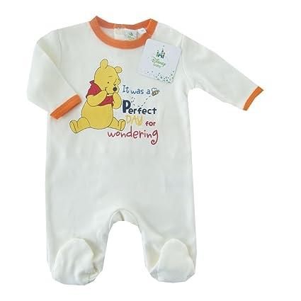 NUEVO | Pelele Winnie the Pooh | Pijama Blanco de naranja | 56 62, 68