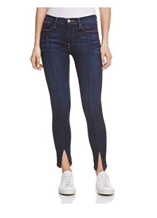 2b577e0f345ff Image Unavailable. Image not available for. Color  Frame Denim Women s Le  High Skinny Front Split ...
