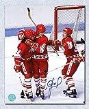 Signed Igor Larionov Picture - CCCP USSR 8x10 KLM Line - Autographed NHL Photos
