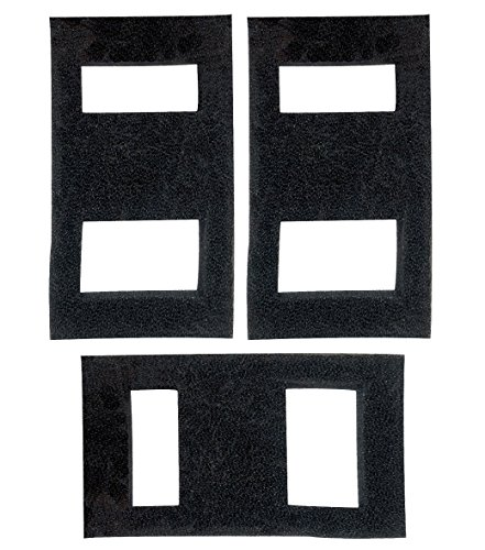 Zanyzap 3 Foam Filter Blocks for Fluval SPEC Aquarium