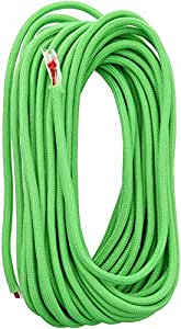 Live Fire 550 FireCord - 25 Feet - Safety Green