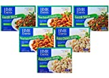 diet food - HMR Tasty Trio Entree Variety Pack, includes: 2 servings each of Penne Pasta with Meatballs in Sauce, Rotini Chicken Alfredo, and Lentil Stew 7.0–8 oz.servings, 6 count, (Packaging Design May Vary)