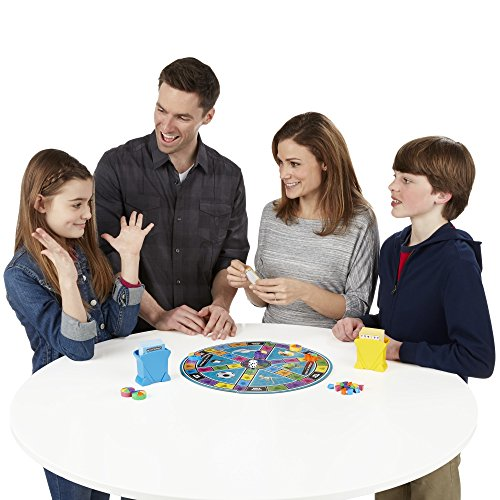 51yrEf36oDL - Hasbro Trivial Pursuit Family Edition Game, Game Night, Ages 8 and up