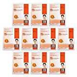 DERMAL Q 10 Collagen Essence Facial Mask Sheet 23g Pack of 10