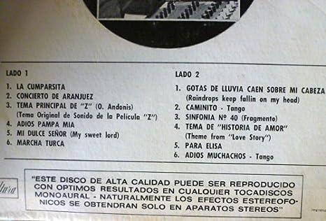Amazon.com: El Mundo Musical de Alain Debray Y su Orquesta ...
