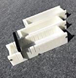Lot of 2 HDPE Soap Loaf Making Mold and Multi Slot Soap Cutter 3 - 4 lb per mold