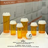 Amber Click Tab Reversible Child Safe Vials