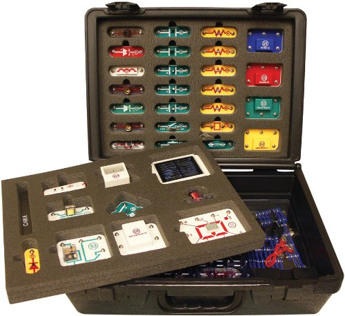 Electricity Kit - Snap Circuits Extreme SC-750R Electronics Exploration Kit + Student Training Program with Student Study Guide | Perfect for STEM Curriculum