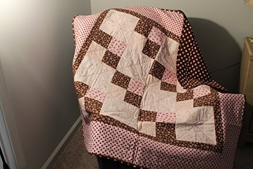 Pink Baby Quilt by Daisy Bs