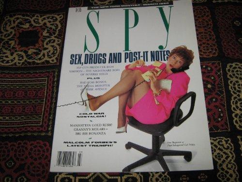 Golf Monthly Magazine - Spy Magazine The New York Monthly (Robert Campeau , Golf Cheat ? , Ann Magnuson , Top Gun , Cold War Nostalgia ! , Malcolm Forbes, March 1990)