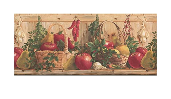 Wallpaper Border Kitchen Wallpaper Border 2322 Kr Amazon Com