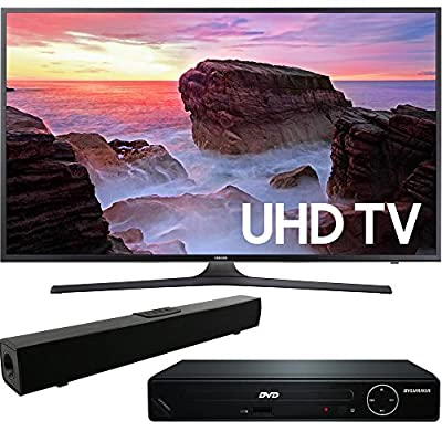 MU6300 Series TV with DVD Player and Bluetooth Soundbar