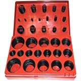Simply Silver - 407pc O-RING Assortment Set Professional Assorted Universal Gasket Tool Set