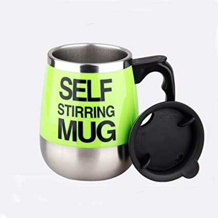 Amazon.com: Shuibeihy taza de café autoagitante 401-500 ml ...