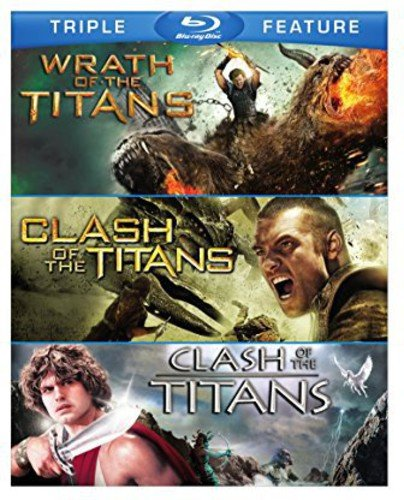Clash of the Titans (2010) / Clash of the Titans (1981) / Wrath of the Titans (3FE)(BD) [Blu-ray]