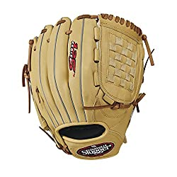 "Louisville Slugger 125 Series Baseball Gloves, Right Hand, 12"", Cream"
