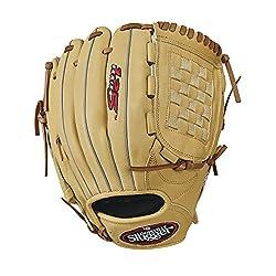 "Louisville Slugger 125 Series Baseball Gloves, Right Hand, 12"", Cream"