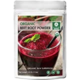 Organic Beet Root Powder (1 lb) by Naturevibe Botanicals, Raw & Non-GMO | Nitric Oxide Booster | Boost Stamina and Increases