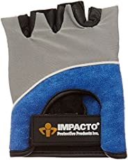 Rolyan Left-Handed, X-Large Workhard Gel Glove, Gel Palm Protector for Shock Absorption