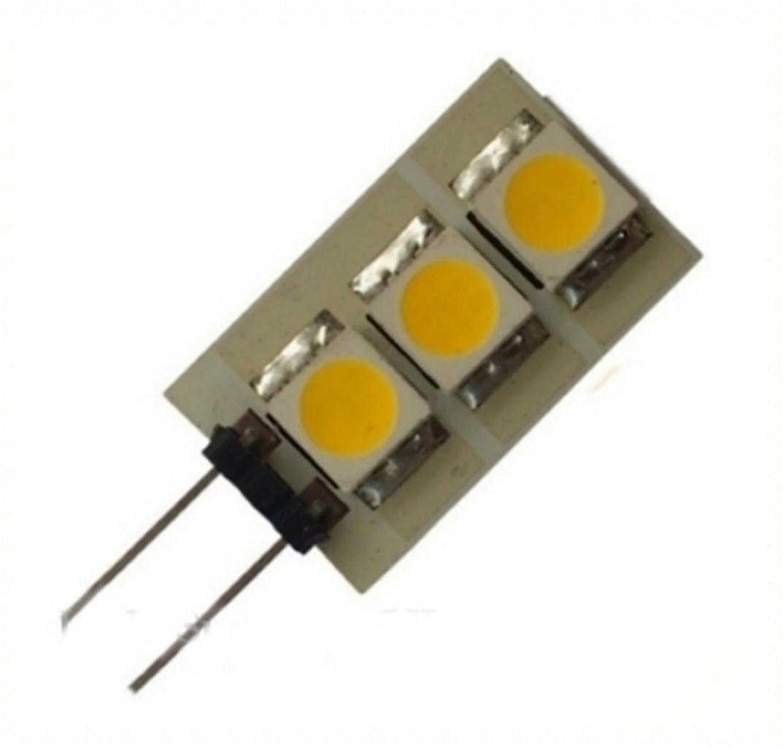 7 x G4 LED SMD 1W 50LM) 12 V AC DC, Weiß (), 8 Stück