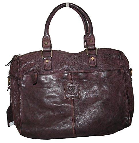 Bear Bags, Borsa tote donna Rosso bordeaux