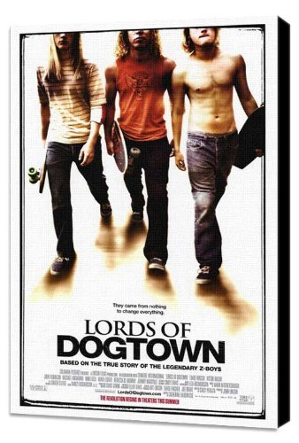 ArtFuzz Lords of Dogtown 27 x 40 Movie Poster - Style A - Museum Wrapped Canvas (Poster Lords Movie Dogtown Of)