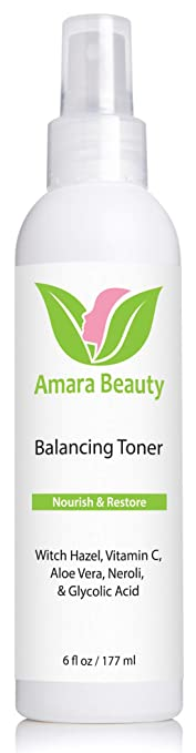 Amara Beauty Facial Toner with Witch Hazel & Vitamin C