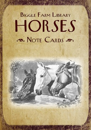 Biggle Farm Library Note Cards: Horses ebook
