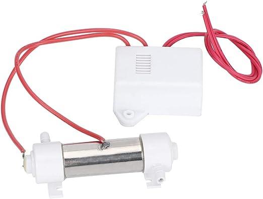 DERCLIVE Profesional Generador de Ozono Piscina Agua Esterilizador de Aire Tubo Desodorizador Purificador Vegetal Fruta Esterilización: Amazon.es: Hogar