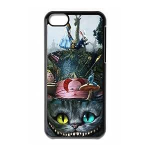 iPhone 5C Phone Case White Alice In Wonderland Cheshire Cat V8802985