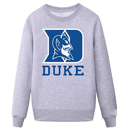 CYKK Mens Duke Blue Devils Sweatshirt grey L (Devils Mens Sweatshirts)