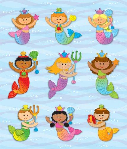 Carson Dellosa Mermaids Prize Pack Stickers (168044)]()