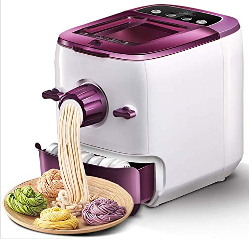 220V Multi-functional Automatic Pasta Maker Noodle Machine 150W Noodle Maker with 8 Noodle Molds