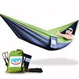 Happy Times is a brand for people looking for freedom and relaxation. Our single parachute hammocks are just one way to begin living your dream of travel or backyard enjoyment with friends and family. Whether it be hiking, backpacking, camping, sleep...