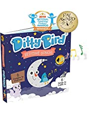 Ditty Bird Our Best Interactive Bedtime Songs Book for Babies. Illustrated Music Singing Board Book. Educational Musical Toys for Baby, 1 Year Old, Toddler with Electronic Push Button.