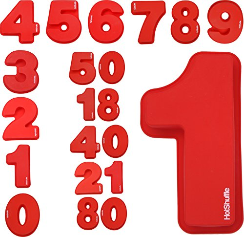 Large Silicone Number Cake Mold