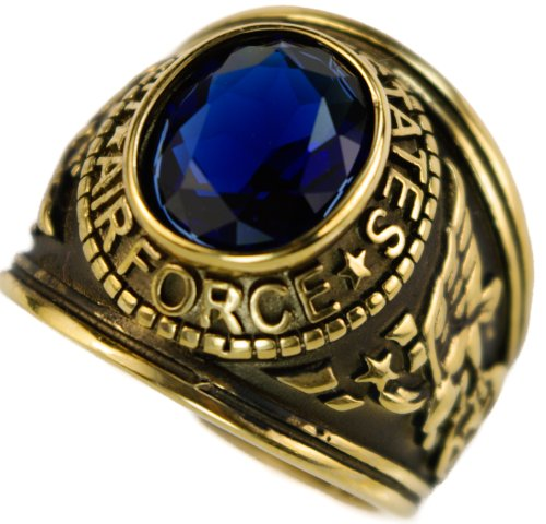 Force Blue Gold Overlay Mens