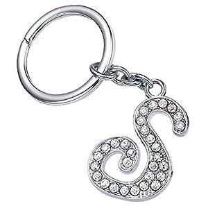 Fashion Bling Bling Letter S Key Ring Creative Packaging Design Box Z-52