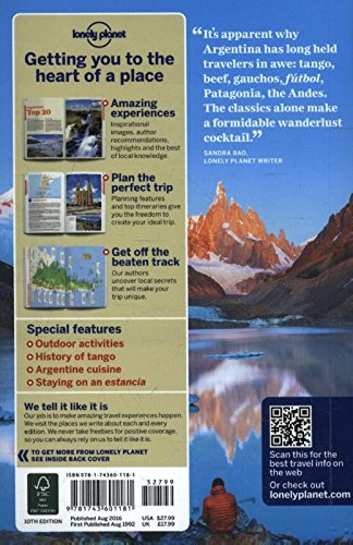 Lonely Planet Argentina (Travel Guide) - 51yrNSBg%2BnL