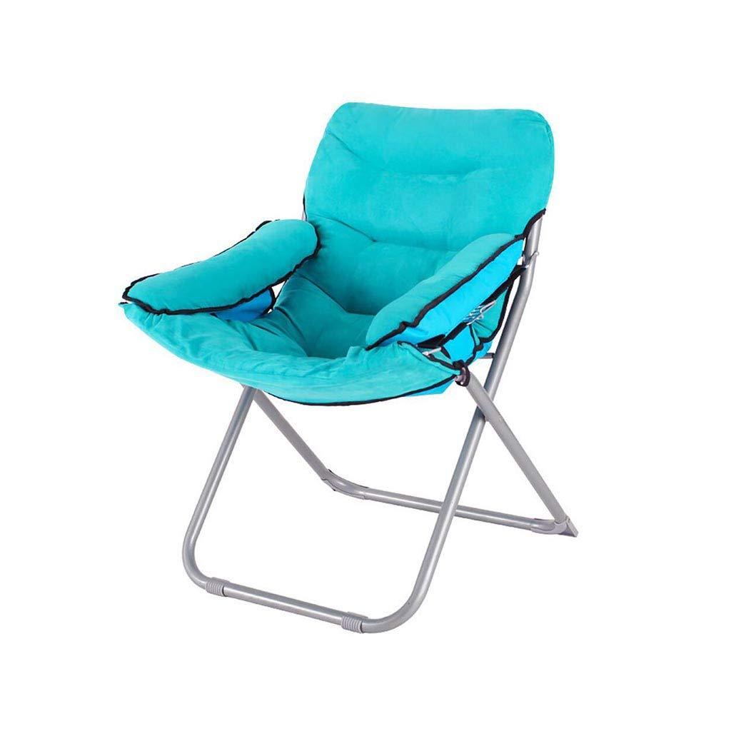 QZ HOME Stühle, Moderner Minimalismus Weich Und Bequem Tuch + Pp Baumwolle Geeignet Für Viele Gelegenheiten Faltbarer Tragbarer Klubsessel (Farbe : 2)
