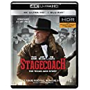 Stagecoach: The Texas Jack Story 4K UHD HDR + BLU-RAY