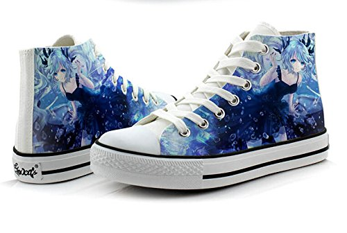 Telacos Miku Shoes Canvas Shoes Sneakers Colourful 2
