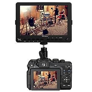 "pangshi S7 4K 7""Ultra HD LCD Video Field Monitor 1920x1200 High Resolution for Canon Nikon Sony Olympus Pentax Panasonic DSLR Camera Camcorder"