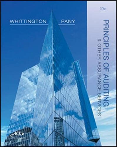 Principles of auditing and other assurance services 19th edition o principles of auditing and other assurance services 19th edition 19th edition fandeluxe Gallery