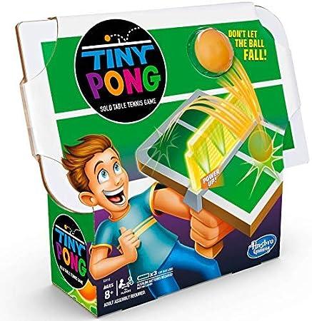 Tiny Pong Solo - Juego electrónico de Tenis de Mesa para niños a Partir de 8 años