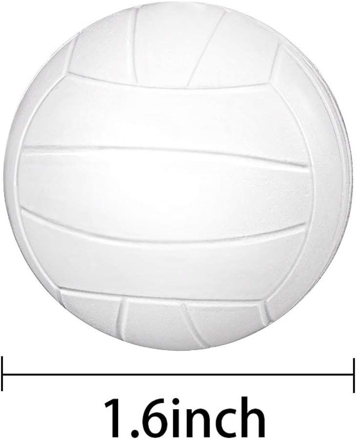 Schaum Dr/ücken Sport Ball f/ür Schule Karneval Belohnung Baseball Party Tasche Geschenk F/üllstoffe 30 Packungen Sport Stress Ball Mini Schaum Dr/ücken Sport Ball