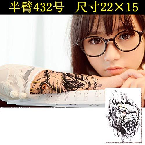 Zhuhuimin Nueva Etiqueta Engomada del Tatuaje Impermeable Animal ...