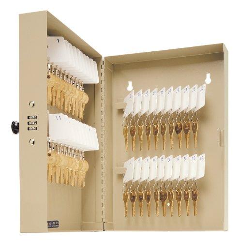 - STEELMASTER Single-Tag 40-Key Cabinet, 7.75