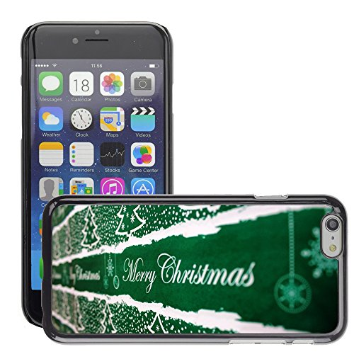 "Premio Sottile Slim Cassa Custodia Case Cover Shell // M00153993 Contexte de Noël // Apple iPhone 6 6S 6G 4.7"""