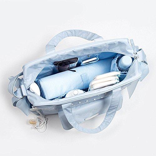 Pasitto a Pasito - Bolsa Canastilla Pasito a Pasito Nursery azul